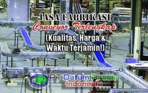 Fabrikasi Conveyor PT Datum Presisi Indonesia Feature